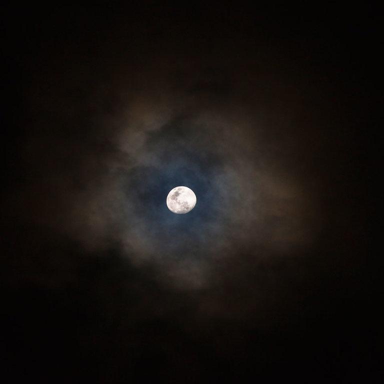 Moon Over Lake Ballard