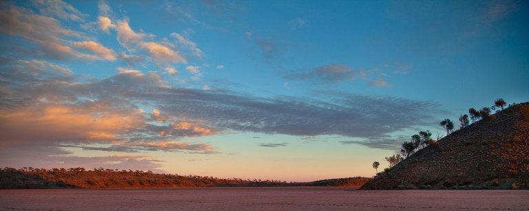 Sky over Lake Ballard