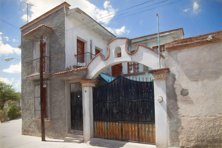 House in Mitla