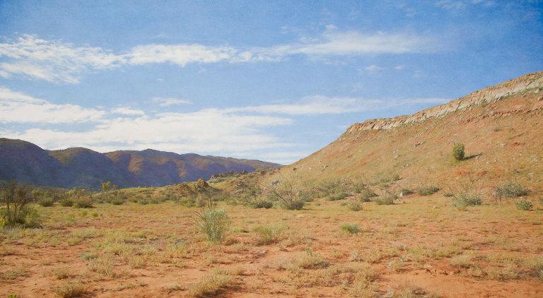 Landscape around Corroboree Rock