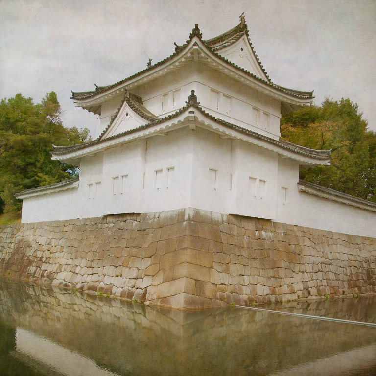 Nijo Castle Outer Wall & Moat