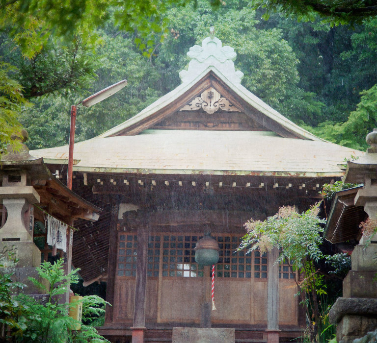 Shrine in Jindaiji